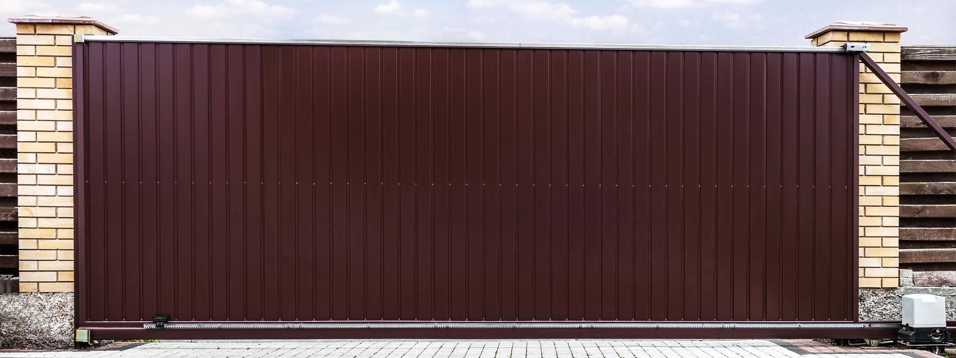 Puertas garaje correderas Zaragoza