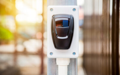 Sensores de movimiento en puertas de garaje